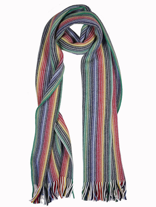 DÉCLIC Myles Multi Stripe Scarf - Assorted