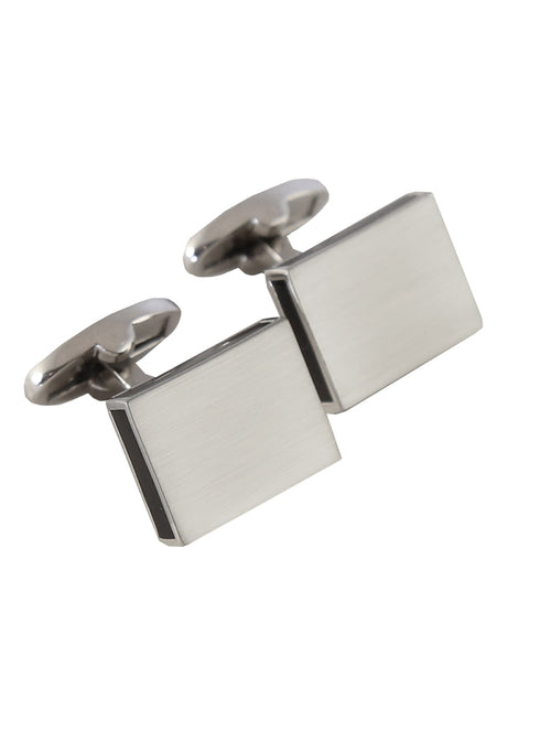 DÉCLIC Bordered Edge Cufflink - Black