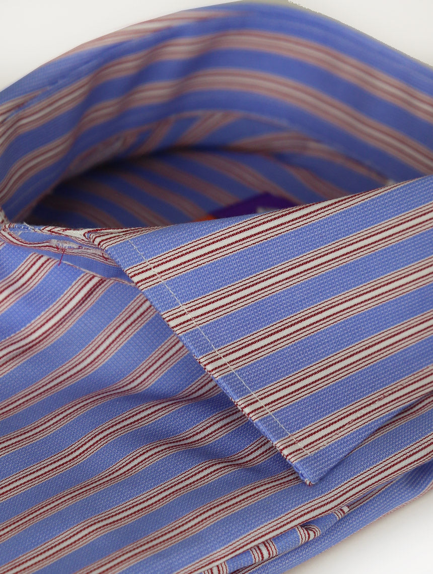 DÉCLIC Milor Stripe Shirt - Blue