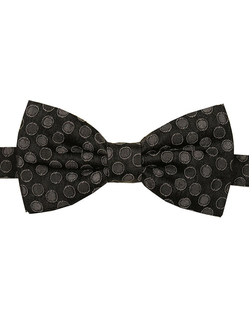 DÉCLIC Mash Spot Bow Tie - Grey