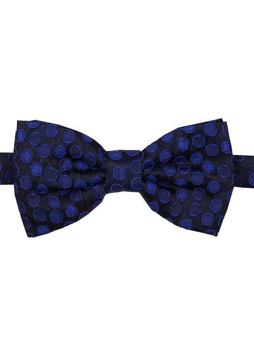 DÉCLIC Mash Spot Bow Tie - Royal