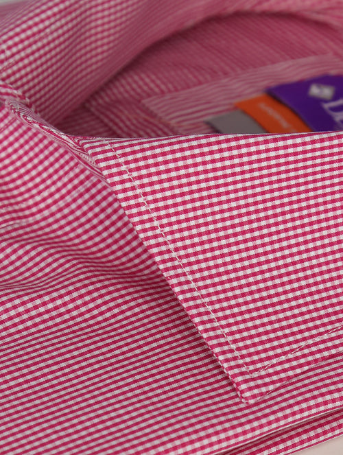 DÉCLIC Severn Check Shirt - Fuschia