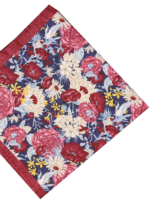 DÉCLIC Sollus Floral Hanky - Red/Assorted