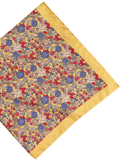 DÉCLIC Ricco Floral Hanky - Yellow