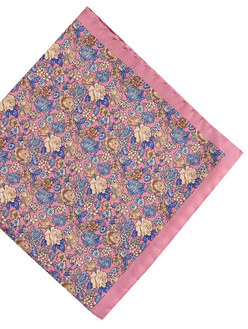 DÉCLIC Ricco Floral Hanky - Pink