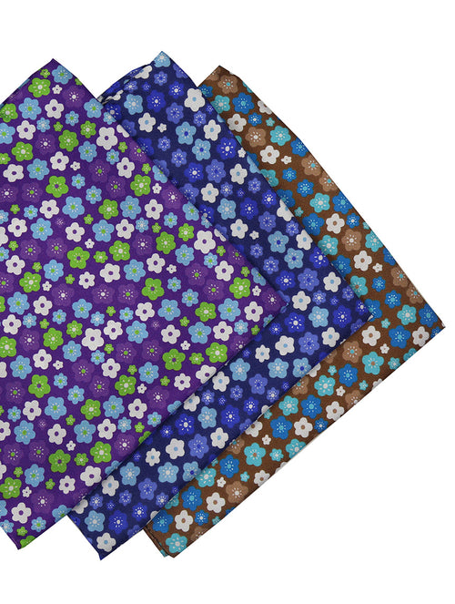 DÉCLIC Viral Floral Hanky - Assorted