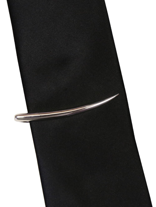 DÉCLIC Tusk Tie Bar - Sterling Silver