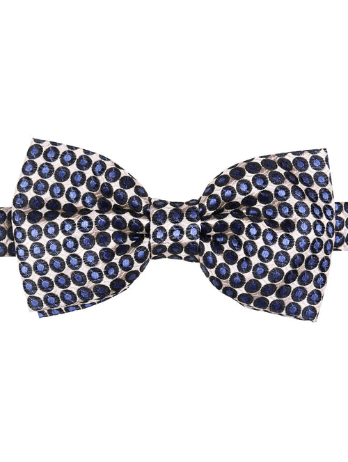 DÉCLIC Shift Spot Bow Tie - Blue-White