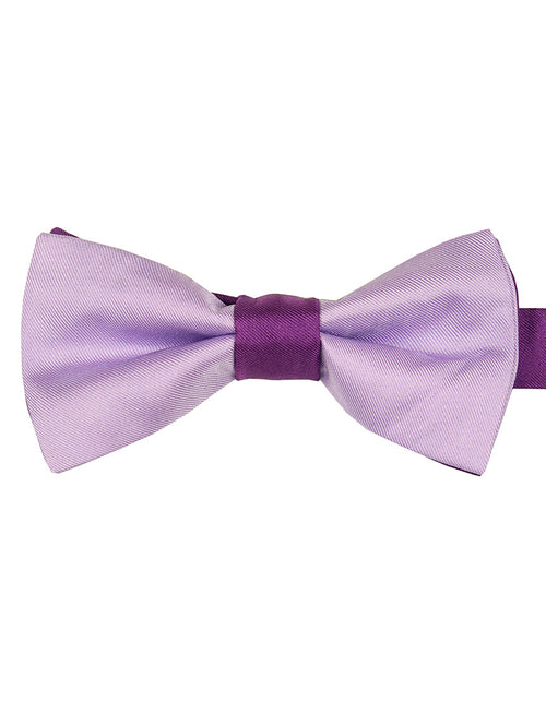 DÉCLIC 2-Tone Bow Tie - Lavender-Purple