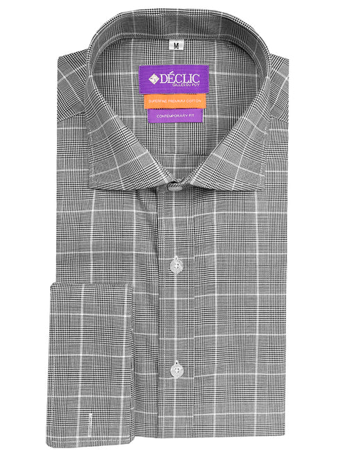 DÉCLIC Tipton Check Shirt - Black