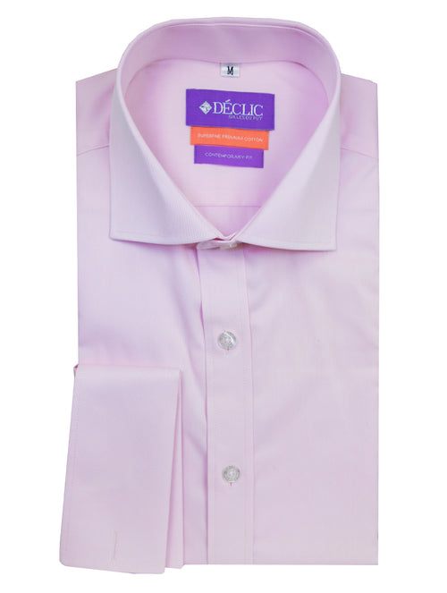 DÉCLIC Chilton Plain Shirt - Pink
