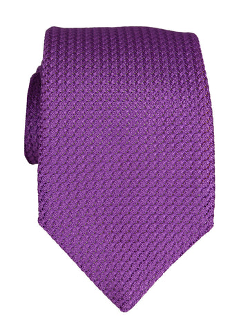 DÉCLIC Woven Reversible Tie - Black/White