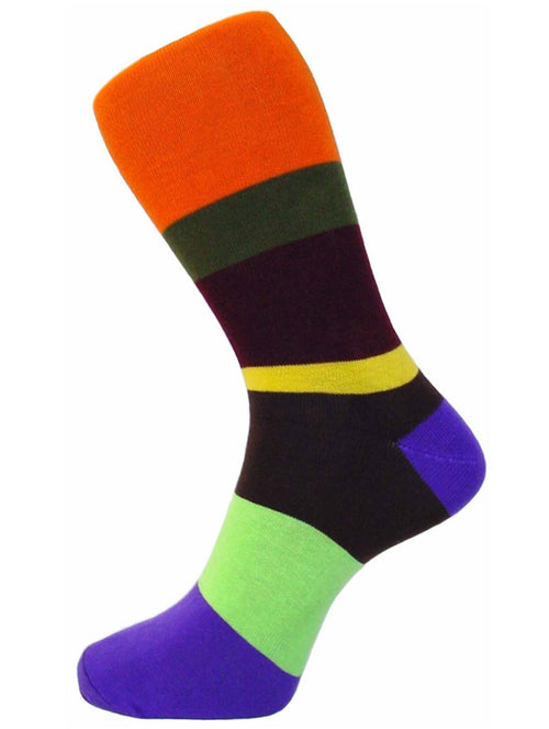 DÉCLIC Play Socks - Orange (15 Year Sock Anniversary Re-release)