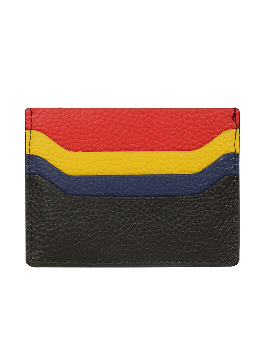 DÉCLIC Racer Stripe Credit Card Wallet - Black