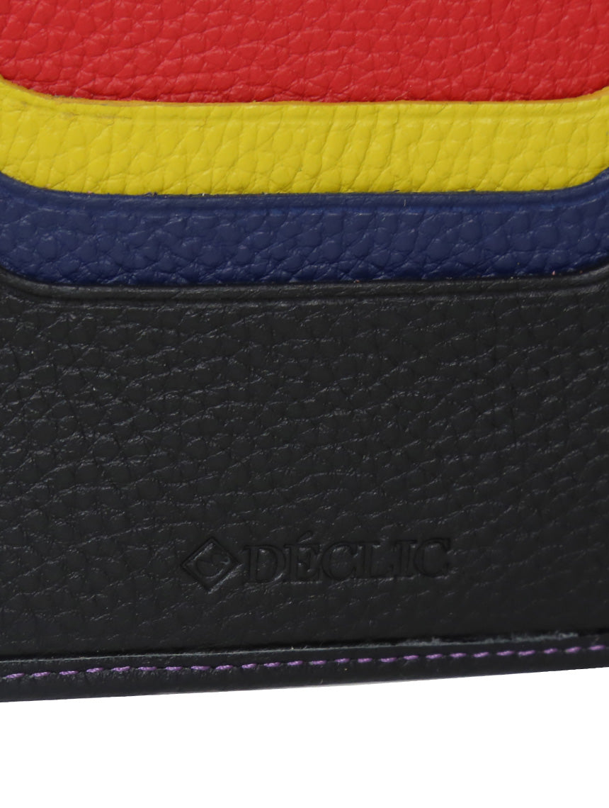 DÉCLIC Racer Stripe Bi-Fold Wallet - Black