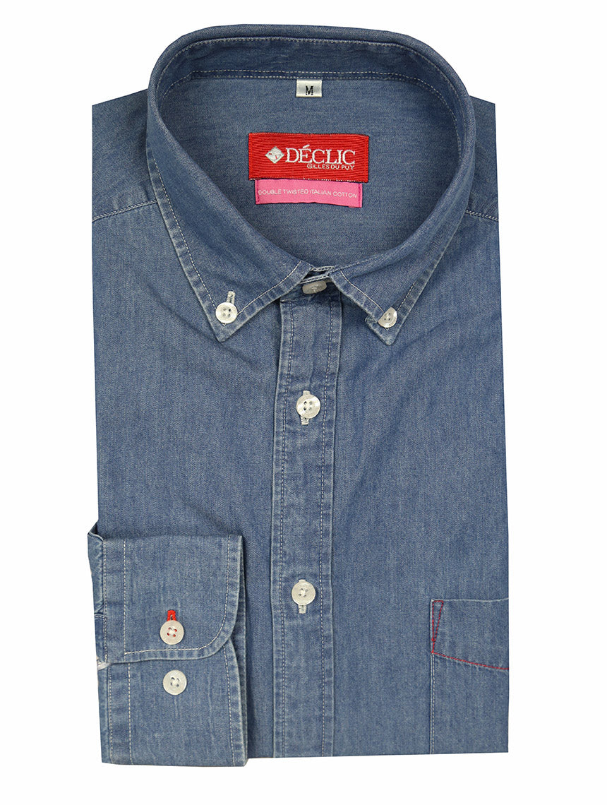 DÉCLIC Monco Denim Shirt - Blue