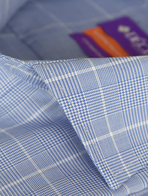 DÉCLIC Tipton Check Shirt - Blue