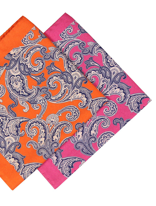 DÉCLIC Bold Paisley Hanky - Assorted