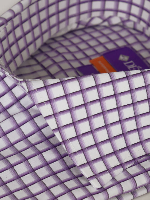 DÉCLIC Atsu Check Shirt - Lavender