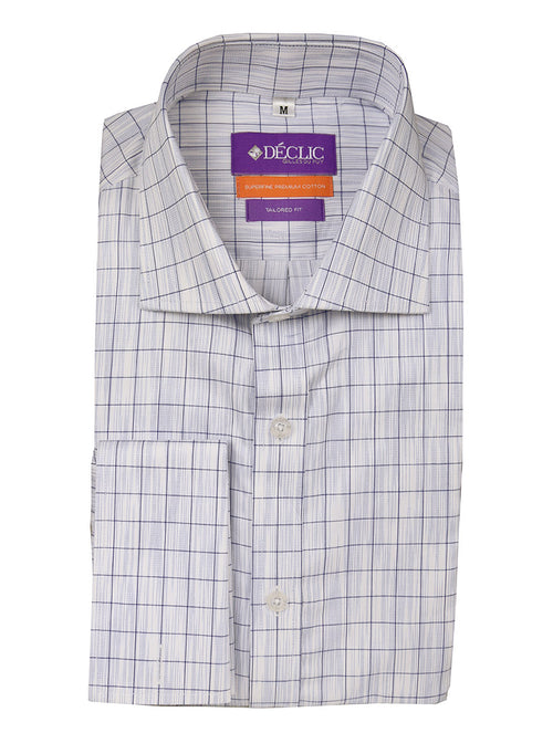 DÉCLIC Ink Check Shirt - Blue