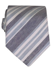 DÉCLIC Marra Stripe Tie - Blue