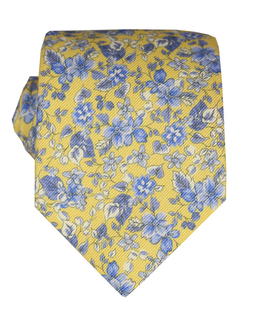 DÉCLIC Fiori Floral Tie - Yellow