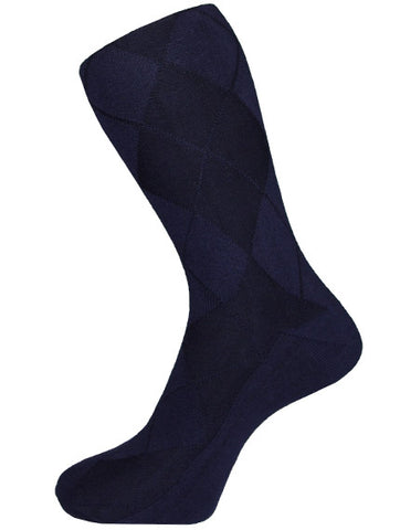 DÉCLIC Honeycomb Socks - Navy