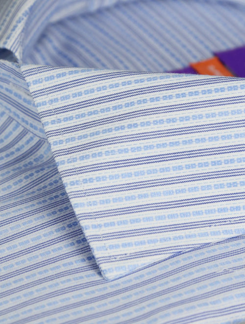 DÉCLIC Cameo Stripe Shirt - Blue