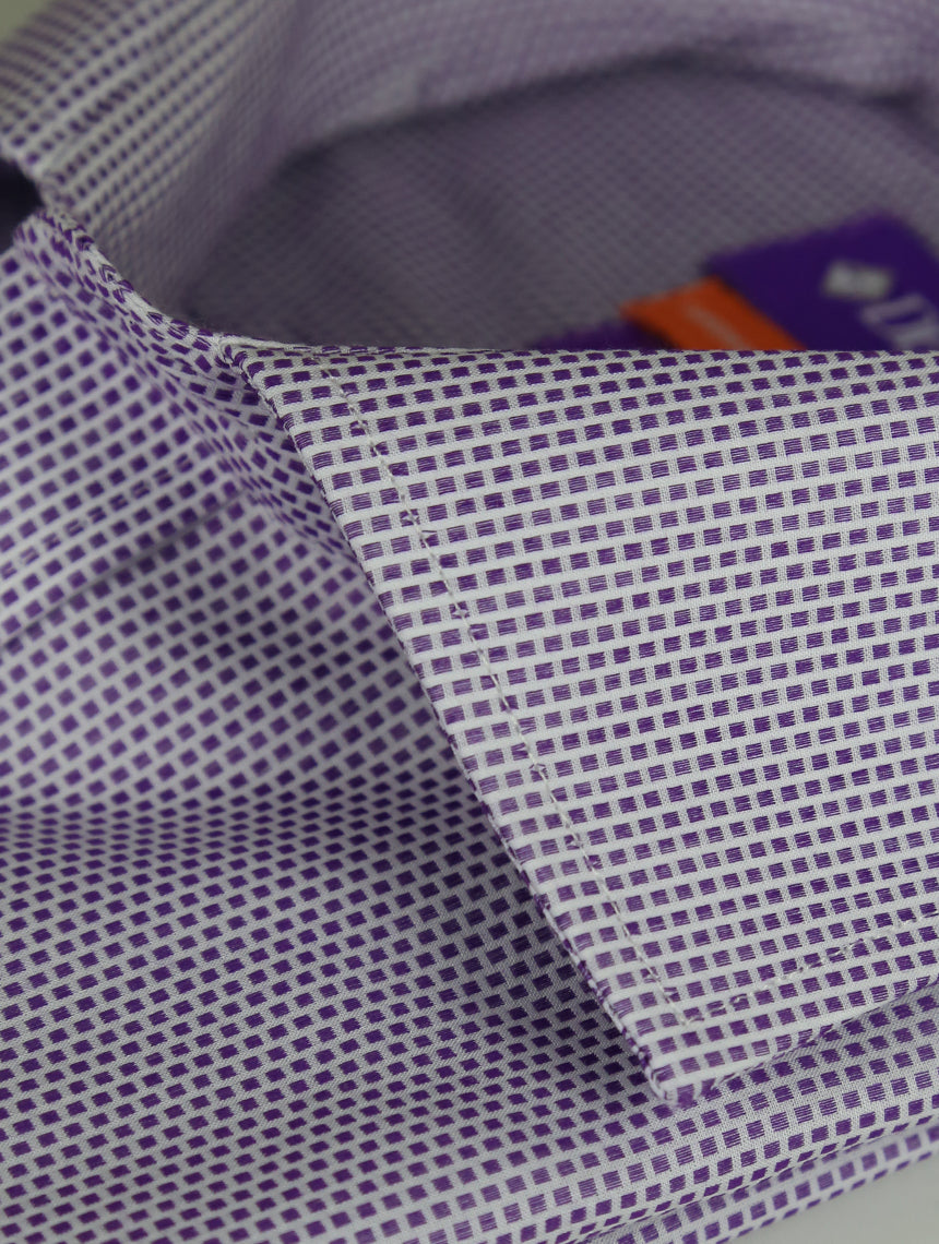 DÉCLIC Tansel Patterned Shirt - Purple