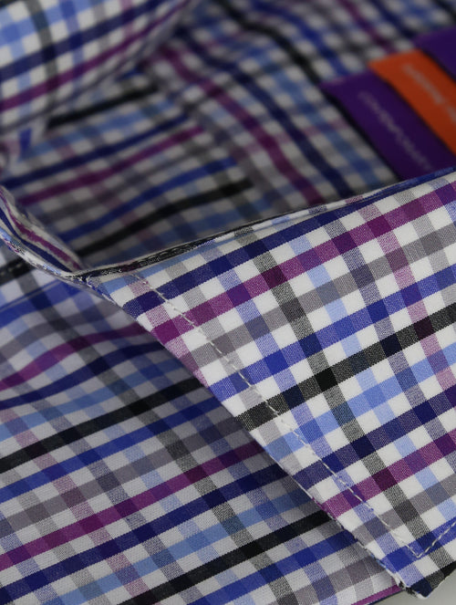 DÉCLIC Danner Check Shirt - Blue