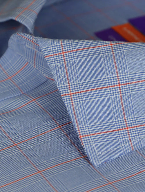 DÉCLIC Chard Check Shirt - Blue