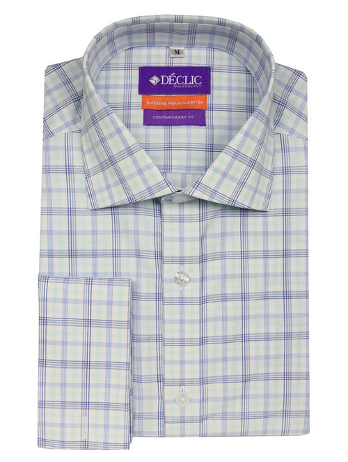 DÉCLIC Batley Check Shirt - Mint