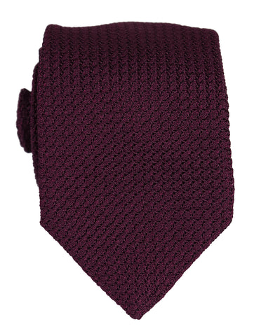 DÉCLIC Grenadine Weave Tie - Red
