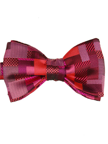 DÉCLIC Polo Bow Tie - Burgundy