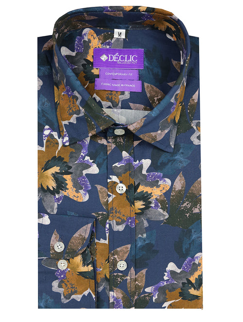 DÉCLIC Lagoon Floral Print Shirt - Assorted