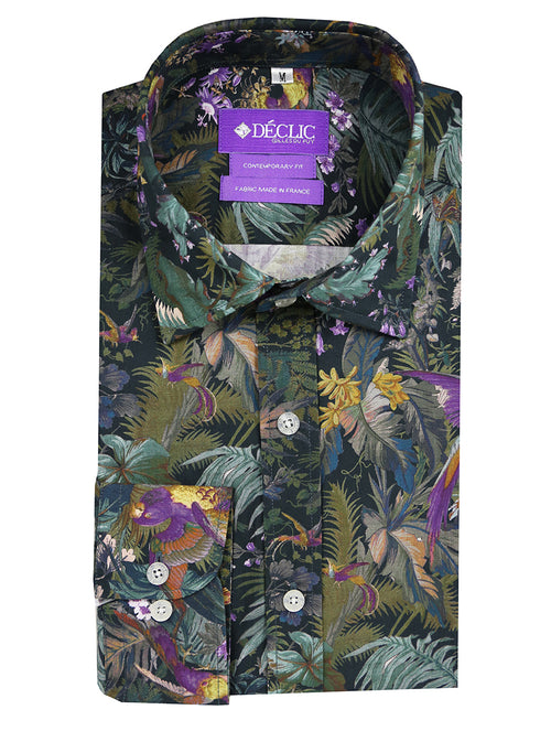 DÉCLIC Amazon Aviary Print Shirt - Assorted