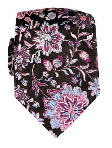 DÉCLIC Ceres Pattern Bow Tie - Red/Fuschia