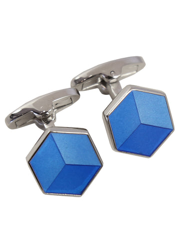 DÉCLIC World Map Disc Cufflink