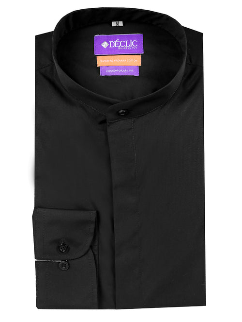 DÉCLIC Malton Grampa Shirt - Black