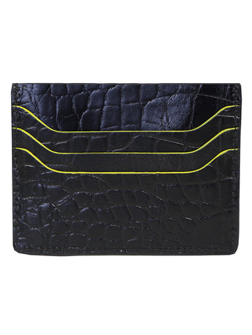 DÉCLIC Block Reverse Credit Card Wallet - Blue-Yellow