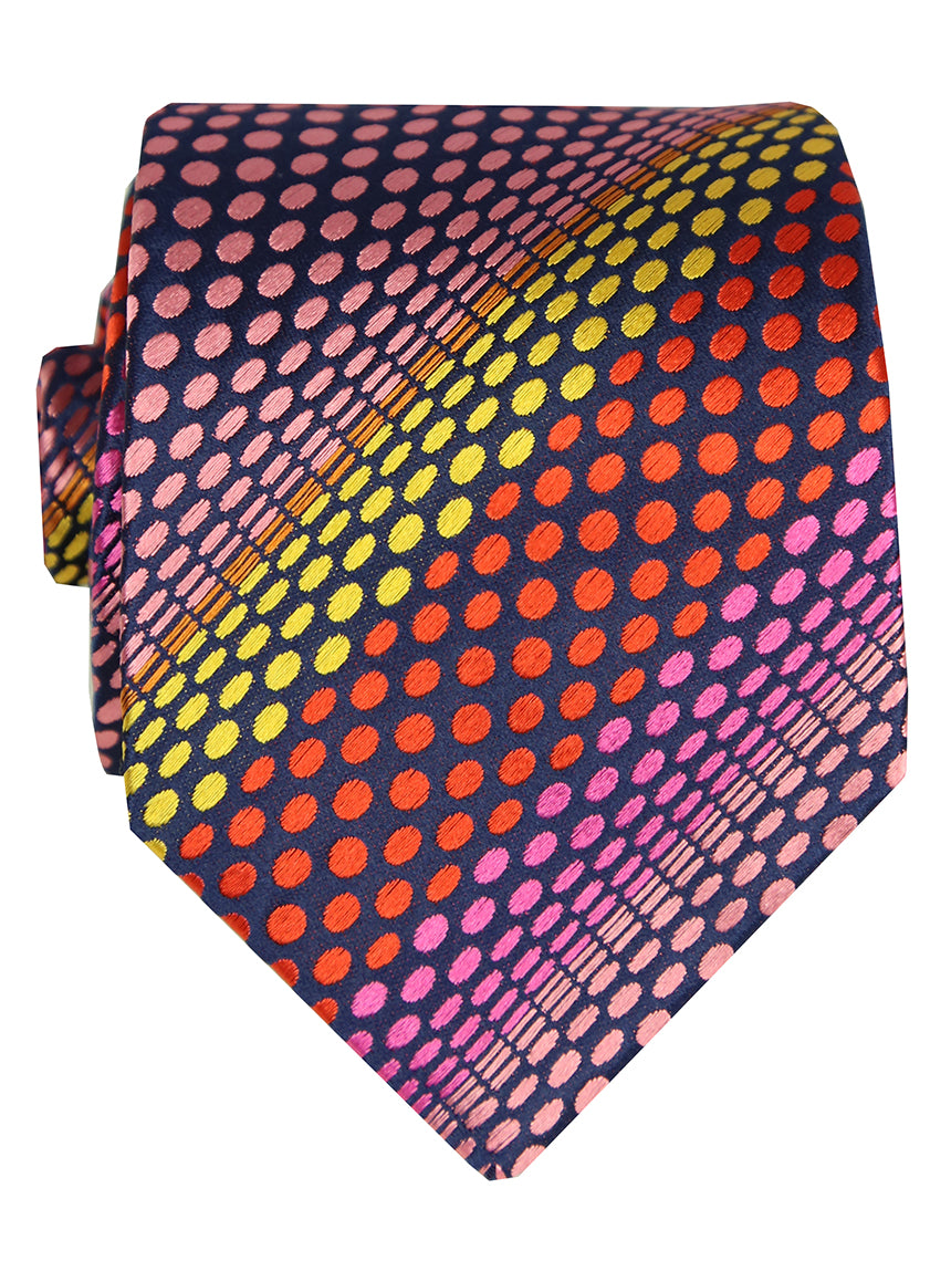 DÉCLIC Aller Spot Tie - Assorted/Red