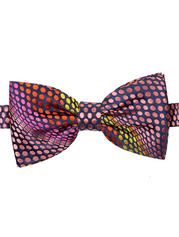 DÉCLIC Briller Knitted Bow Tie - Navy
