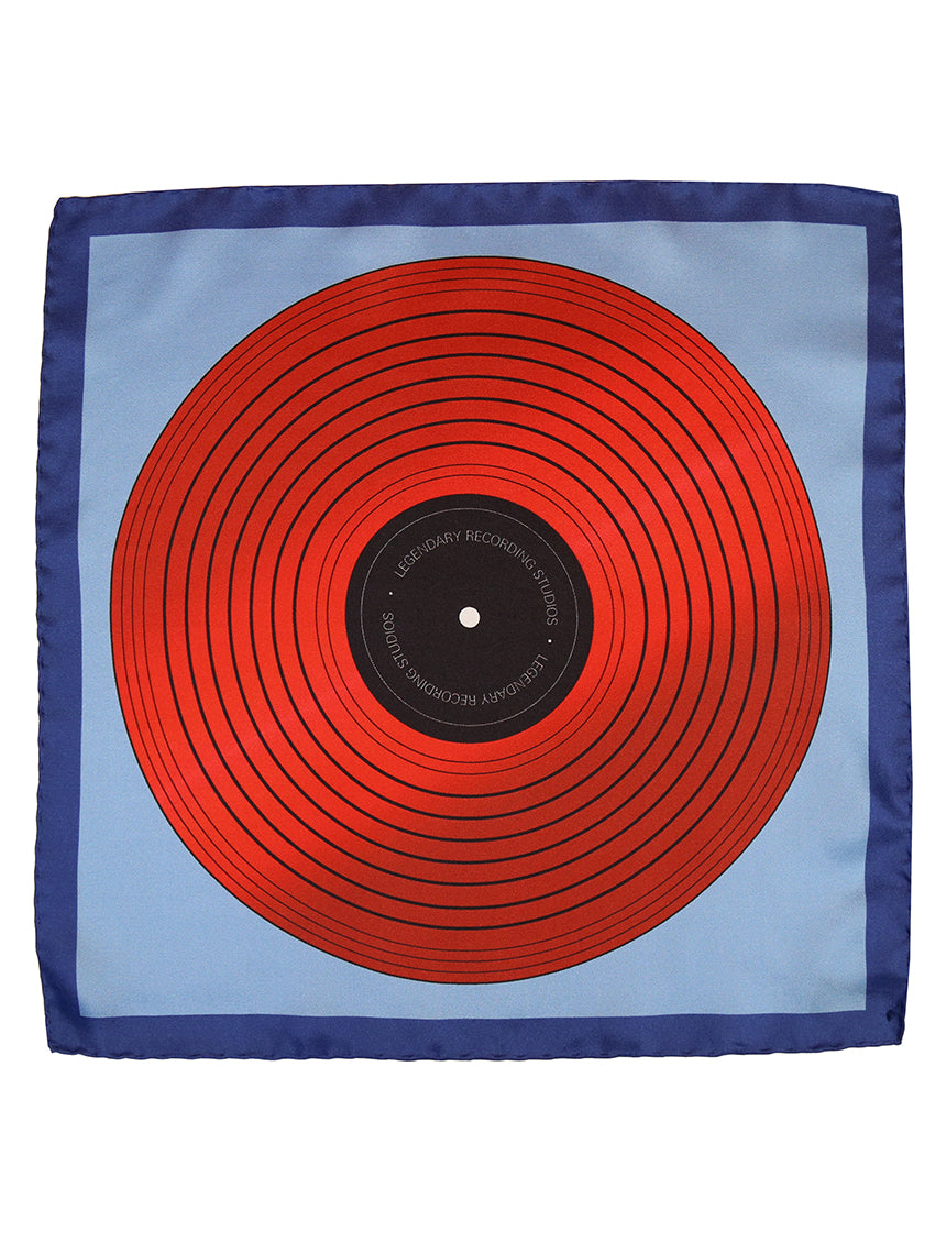 DÉCLIC Record Theme Hanky - Assorted