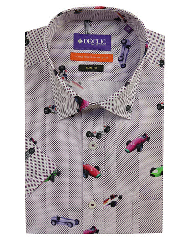 DÉCLIC Danner Check Shirt - Purple
