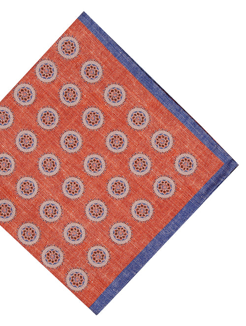 DÉCLIC Pirli Pocket Square - Orange