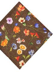 DÉCLIC Aires Floral Hanky - Brown
