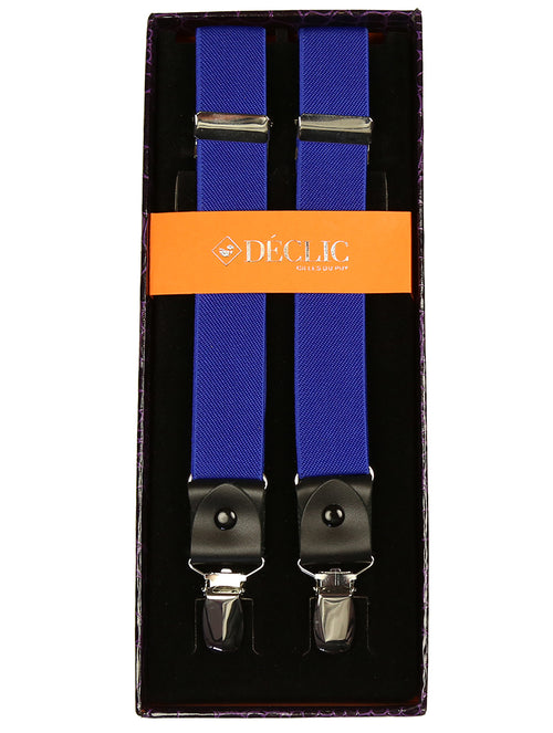 DÉCLIC 25mm Clip Braces - Royal