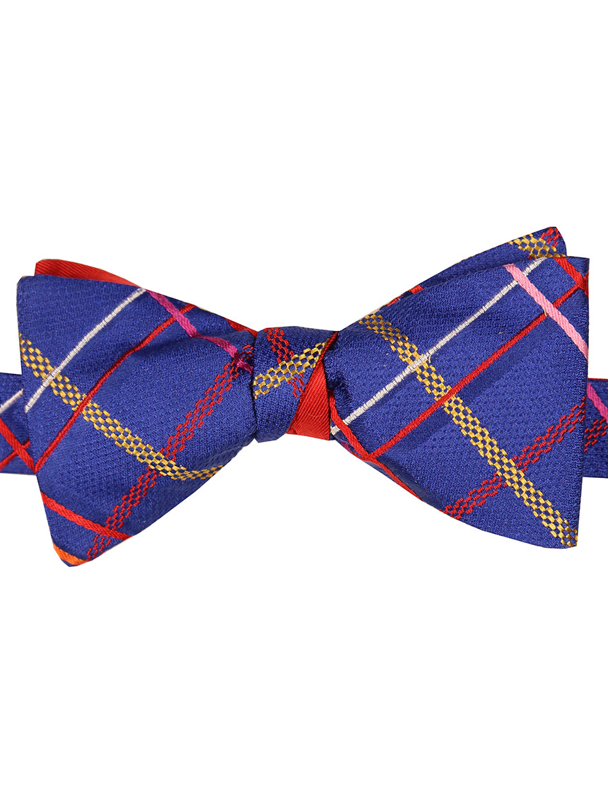 DÉCLIC Sens Twist Bow Tie - Blue