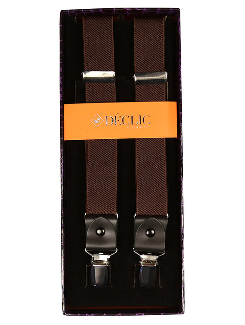 DÉCLIC 25mm Clip Braces - Brown