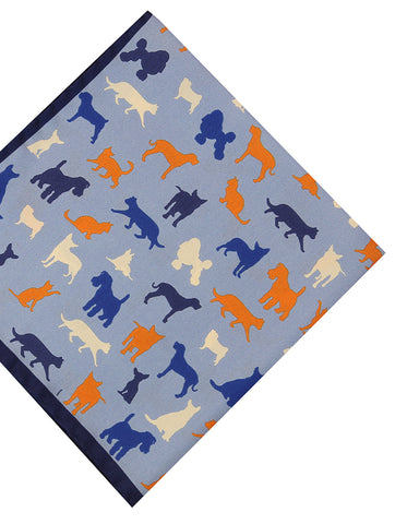 DÉCLIC Wild Animals Tie - Blue
